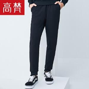 【1件3折 到手价:279元】高梵冬季新款休闲男士户外羽绒裤外穿修身加厚保暖白鸭绒羽绒长裤