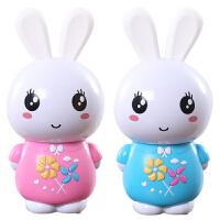 小白兔子早教机婴儿童宝宝带音乐玩具0-3-6岁讲故事机可充电下载