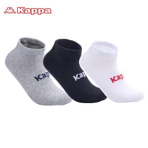 Kappa/卡帕(3双)男袜子棉短袜运动袜子组合装KP8W11