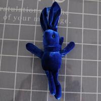 网红许愿兔公仔伴手礼盒子丝绒兔子小玩偶毛绒钥匙书包挂件女童 20厘米左右