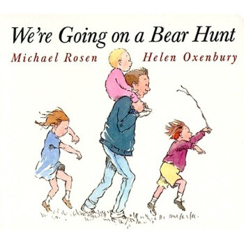 We're Going on a Bear Hunt (Classic Board Books) 我们要去捉狗熊 ISBN 9780689815812