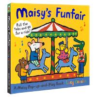 【首页抢券300-100】Maisy's Funfair 小鼠波波原版绘本 游乐场 立体故事机关操作书 儿童英文原版进口
