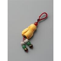 男士平安挂件女可爱情侣款个性创意礼物木质小葫芦汽车钥匙扣