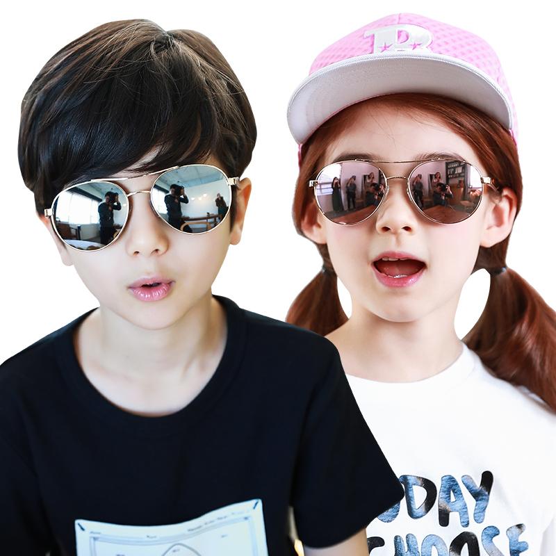 kk树潮夏季儿童太阳镜新款儿童眼镜墨镜护眼防晒男女童宝宝太阳镜2017新款 ,防紫外线,护眼