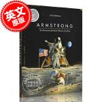 现货 阿姆斯特朗:一只老鼠的月球探险 英文原版Armstrong:The Adventurous Journey of