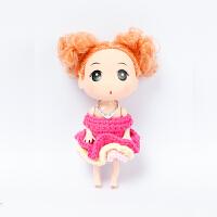 全织时代毛线玩偶成品戒指公主毛线裙子手工钩针编织芭比创意礼物