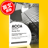 现货 ACCA考试 新版 公司法与商法 教材 英文原版 Corporate and Business Law Stud