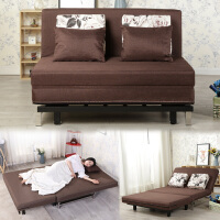 沙发床可折叠多功能单双人小户型1.2\1.5米布艺可拆洗简约折叠床