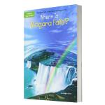 华研原版 尼亚加拉瀑布在哪里 英文原版 Where Is Niagara Falls? 英文儿童桥梁章节书 中小学生读
