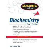 英文原版 生物化学大纲 Schaum's Outline of Biochemistry, Third Edition