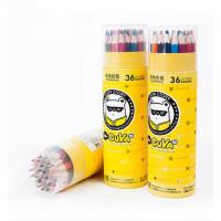 真彩彩铅 036-12 18 24 36色油性彩色铅笔 桶装油性铅笔