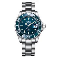 瑞士原装进口,全球联保两年!瑞士迪沃斯DAVOSA -Diving 潜水系列 Ternos特勒斯 HC/200-蓝 16155540 机械男表【好礼万表 礼品卡可购】