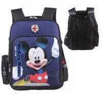 迪士尼米奇小�W生�p肩包 TGMB0243男童��包 �_�W背包 休�e旅行包