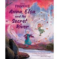 英文原版 冰雪奇缘2 精装绘本 安娜 艾莎与神秘河 迪士尼 Frozen 2: Anna, Elsa, and the