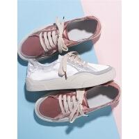 小白鞋女平底秋季百搭学生布板鞋