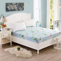 床笠纯棉1.8米床席梦思床垫保护套1.5床罩全棉床垫罩加厚单件