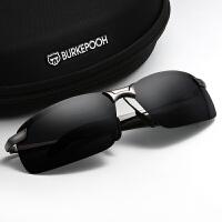 太阳镜男司机镜偏光镜开车驾驶镜潮人墨镜眼睛男个性方形太阳眼镜