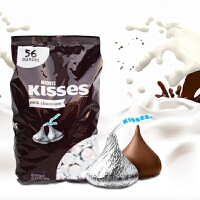 限时特惠 美国进口好时银色水滴1.58kg好时之吻HERSHEY'S Kisses 好时牛奶巧克力婚庆喜糖