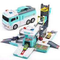 �和�模型�道�玩具小汽�套�b�M合路�停��鲆嬷�