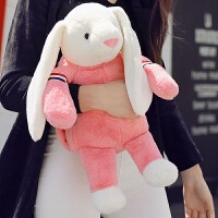 邦尼兔��宝宝热水袋充电暖手宝注水防爆萌萌可爱毛绒韩版暖水袋女