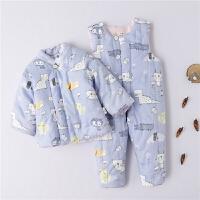 宝宝棉衣冬装 婴儿纯棉套装幼儿童装