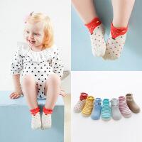 G005儿童袜子 春夏新款婴幼儿纯棉袜子卡通男女宝宝短筒袜