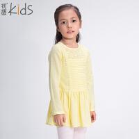 初语童装 女童连衣裙 休闲百搭时尚裙 T5324120012