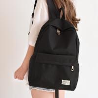 大容量简约旅行男背包电脑包潮日系韩版双肩包女书包高中学生校园