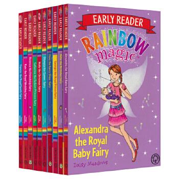 Early Reader Rainbow Magic 彩虹魔法仙子原版故事书10册 分级阅读桥梁书 Level 2 自主阅读课外阅读读物 儿童英文原版进口图书