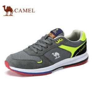 camel骆驼男鞋  春季新品 时尚休闲透气网面鞋低帮运动休闲男鞋