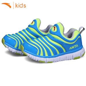 安踏新款小童毛毛虫童鞋男孩跑步鞋休闲鞋儿童运动鞋轻便31639902