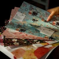 文艺日式清新浪漫情书表白信纸 复古和风信封信纸 / 白糖杂货套装