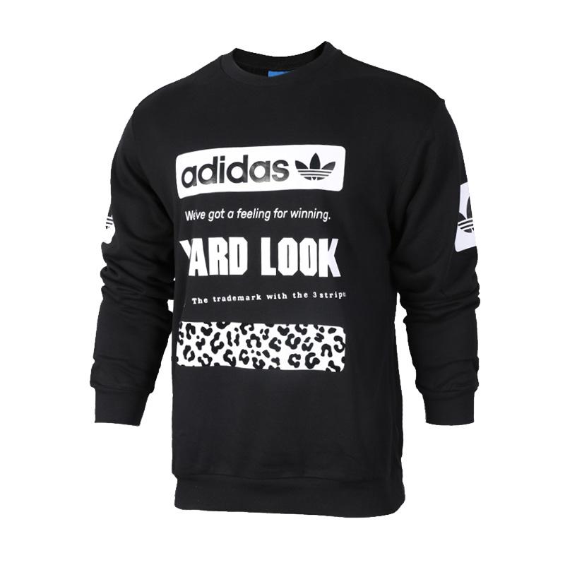 Adidas阿迪达斯 男装 三叶草运动休闲卫衣套头衫 CD1717 现三叶草运动休闲卫衣套头衫