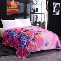 加厚毛毯珊瑚绒法兰绒毯子秋冬季保暖床单薄被子单人双人学生宿舍