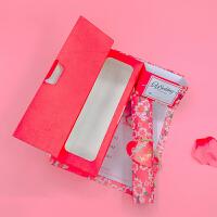请帖创意欧式盒装婚礼请帖结婚请柬个性定制喜帖卷轴盒商务邀请函 红色 10套