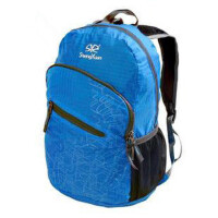 户外登山皮肤背包双肩包可折叠包旅行包 超轻便携男女