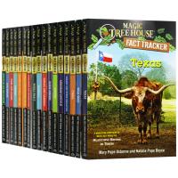 神奇树屋小百科系列17册 英文原版Magic Tree House Fact Tracker儿童章节故事书美国小学生阅读