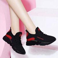 新款老北京布鞋百搭时尚女鞋透气防滑耐磨运动鞋厚底休闲鞋跑步鞋