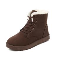 【加厚保暖】冬季加绒加厚女士雪地靴女平跟保暖棉鞋学生女款短靴