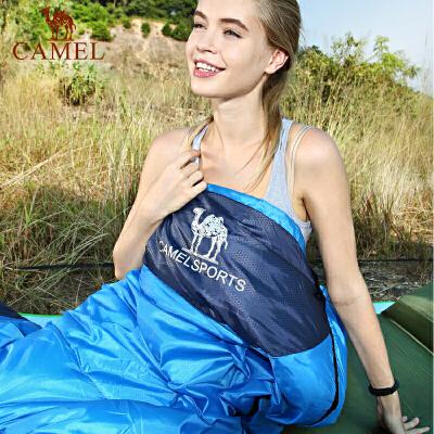 camel骆驼户外睡袋 1.1kg轻盈加厚保暖双人旅行露营室内便携成人睡袋冬官方正品,七天无理由退换货,59元起包邮