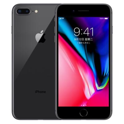 【当当自营】Apple iPhone 苹果 8 Plus (A1864) 64GB 深空灰色 移动联通电信4G手机