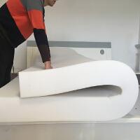 海绵床垫1.5加厚 高回弹海绵垫可拆洗 单双人学生床垫定做
