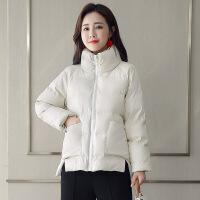 2018冬装新款韩版宽松pu皮棉衣女短款加厚保暖小棉袄大码外套
