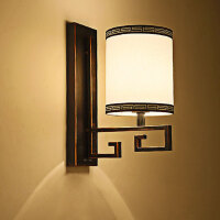 nvc雷士 新中式壁灯灯具灯饰光源类25.4*15*36.5cm