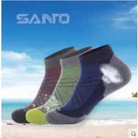 男女户外登山跑步运动袜速干防臭春秋短袜舒适透气运动袜 可礼品卡支付