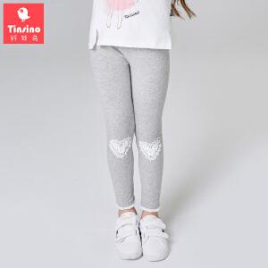 【1件3折价:29.7】纤丝鸟(TINSINO)女童打底裤儿童薄款运动裤子中大童春秋长裤