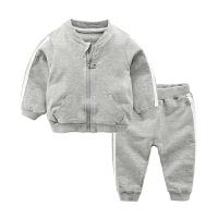 女婴儿套装春装衣服春季运动衣服1岁新生儿两件套男宝宝外套春秋