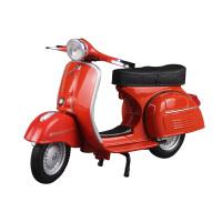 1:18罗马假日比亚乔踏板摩托车Vespa 仿真合金跑车模型