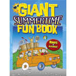 Giant Summertime Fun Book (【按需印刷】)