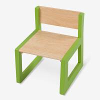【当当自营】好事达 博学加厚儿童椅子 学校桌椅 实木靠背椅 绿色乐橙3643